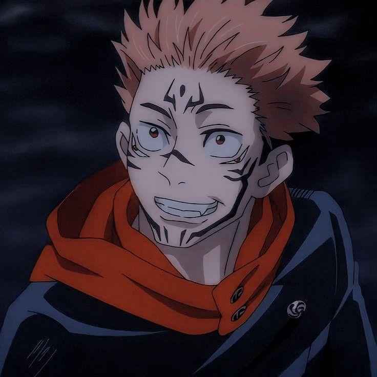 Sukuna Ryomen Jujutsu Anime Guys Anime