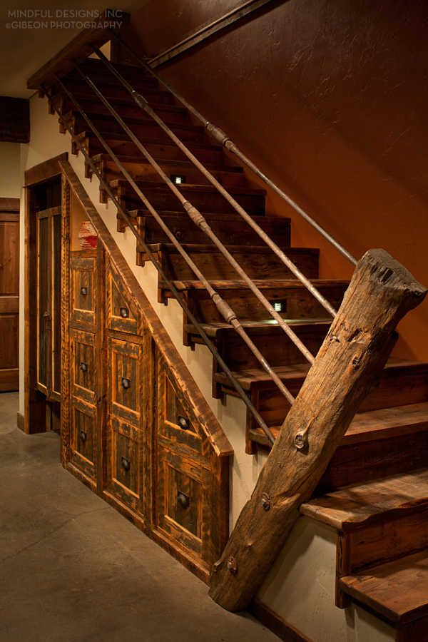 17 Best Images About Rustic Staircase On Pinterest