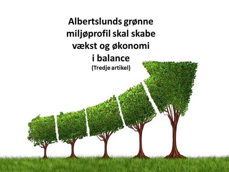 DEBAT: Albertslunds grønne miljøprofil skal skabe vækst og økonomi i balance fortsat III