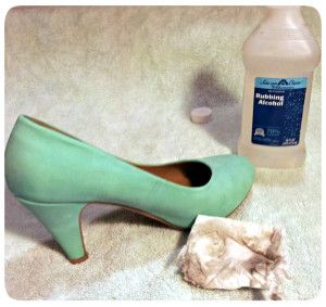 Easy way to clean suede shoes. Going to try on my stained boots. If it doesn't work, oh well.