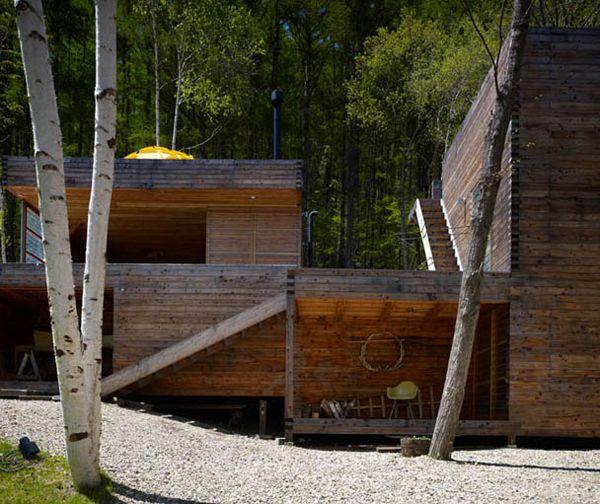 MOUNTAIN COTTAGE Shin Ohori (General Design Co) Nagano, Japan