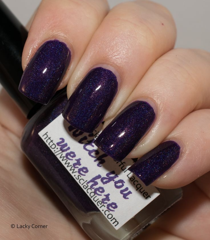 Lacky Corner: Superficially Colorful Lacquer - Witch You Were Here