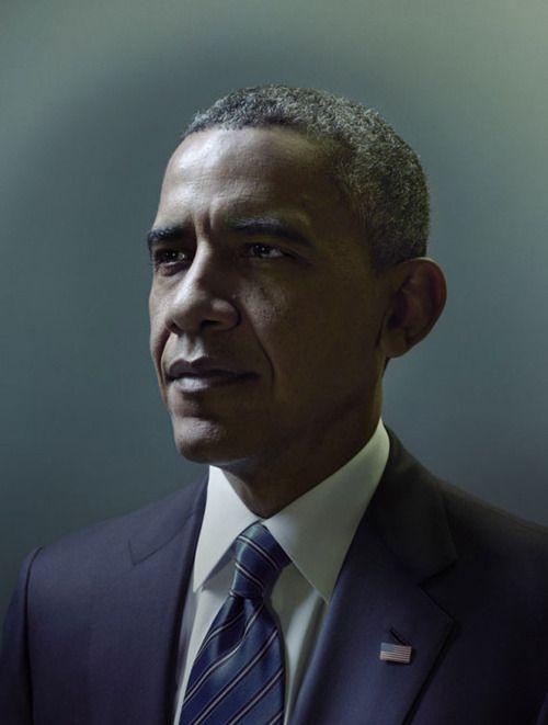 Barack Obama   by Nadav Kander