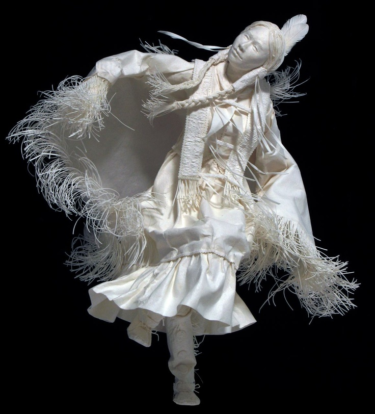 ~~ cast paper sculptures ~~ artists ~  Allen & Patty Eckman ~~ extraordinary! ~~
