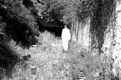 Ireland's most famous ghost - The White Lady of Kinsale, at Charlesfort