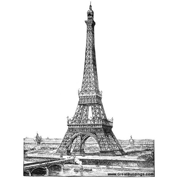 65 best 3rd architecture eiffel tower images on for Eiffel architect