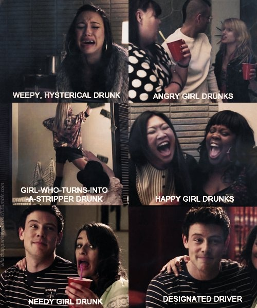 glee is almost like real life