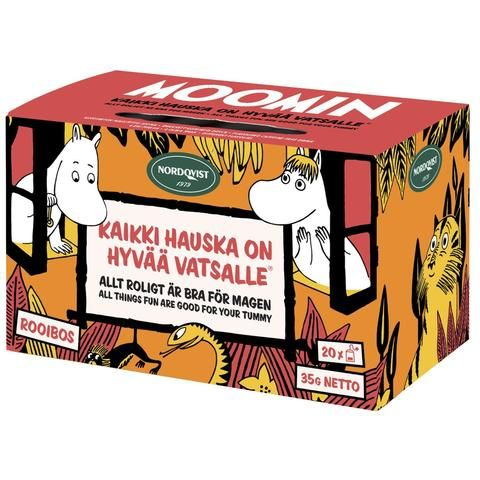 Bagged Moomin Tea - All Things Fun are Good for your Tummy