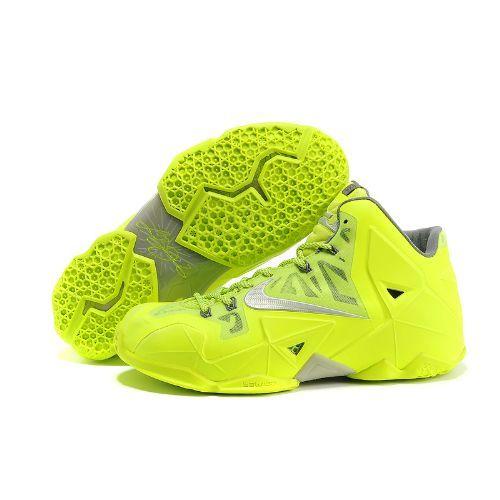Shop Half off Nike 11 Volt Graphite Light Grey Cheap Lebron Shoes