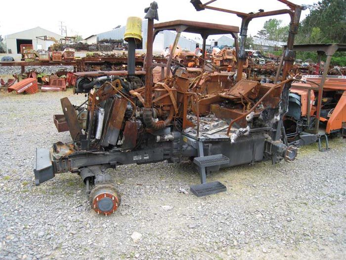 This tractor has been dismantled for Kubota 105 tractor parts.  #kubota #tractor #parts