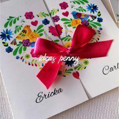 Invitaciones para bodas con temática mexicana fb: ideas Penny invitaciones