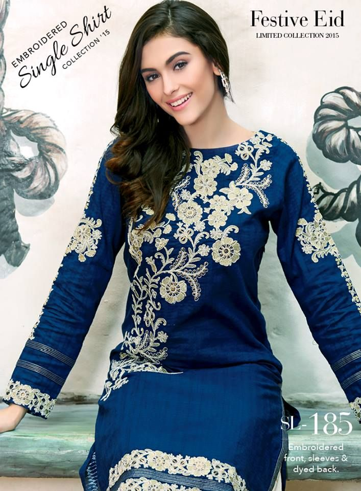Gul Ahmed Festive Eid Collection 2015 with Prices & Catalogue