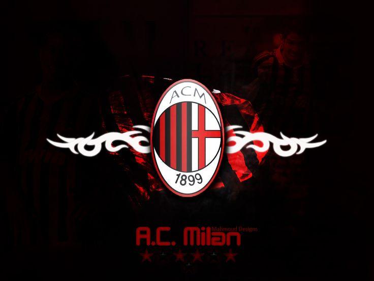 Ac Milan Logo Wallpapers 4K - http://wallucky.com/ac-milan-logo-wallpapers-4k/