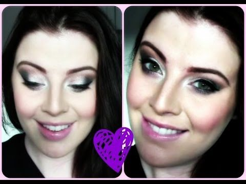 """Have a watch of my New Year's Eve Makeup look! :) Apologies for the """"before"""" face, thank goodness for makeup, eh?! xx My Channel: MyMakeupPerspective"""