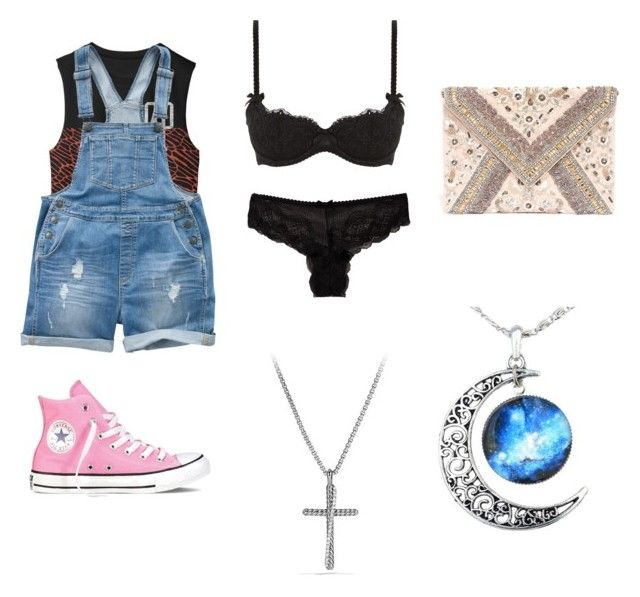 """""""14"""" by drile on Polyvore featuring Fat Face, L'Agent By Agent Provocateur, Converse, David Yurman and LULUS"""