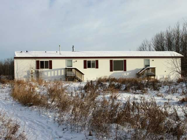 Rural Beaver County home for sale 3 1/2 acres with mobile home