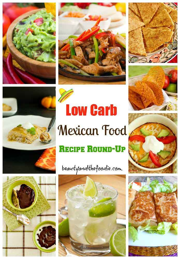Low Carb Mexican Food Recipe Roundup. gluten free, low carb, keto, primal.