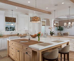 kitchen, house, and luxury-bild