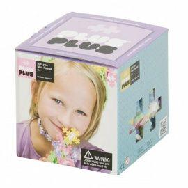 Plus-Plus in mooie pasteltinten. Verkrijgbaar in kleine verpakkingen en grote verpakkingen van 100-1800 stenen