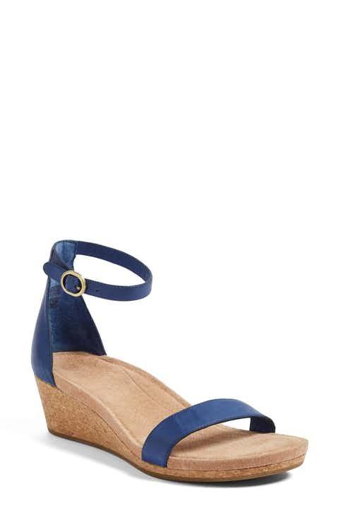 UGG® Emilia Wedge Sandal (Women)