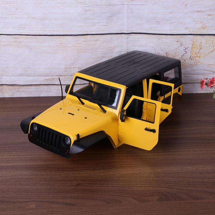 313mm Wheelbase Jeep Wrangler Rubicon Car Shell For RC