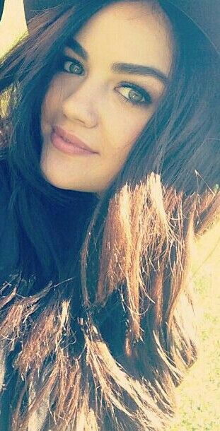 Lucy Hale-I would kill for her eyebrows.