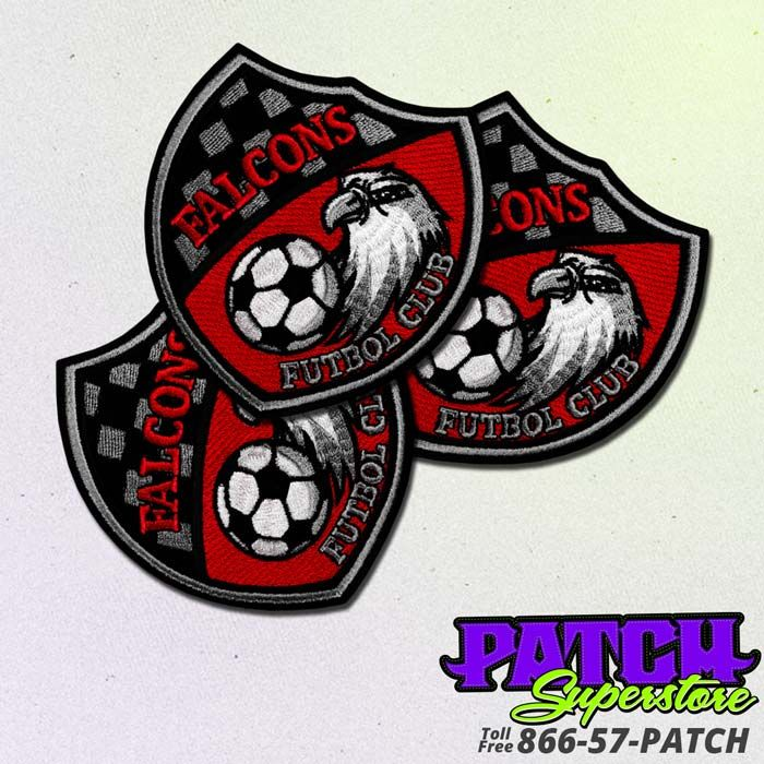 football patch, soccer patches, team patch. Freestate Soccer Embroidered  Patch