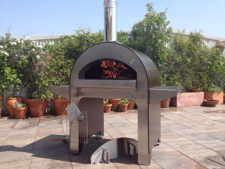 Horno de le a quento en funcionamiento hornos de le a pinterest - Horno casero de lena ...