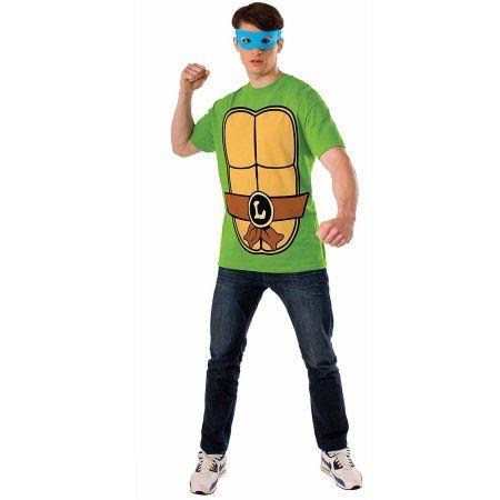 Teenage Mutant Ninja Turtles Leonardo Men's Adult Halloween Dress Up / Role Play Costume, Size: Large