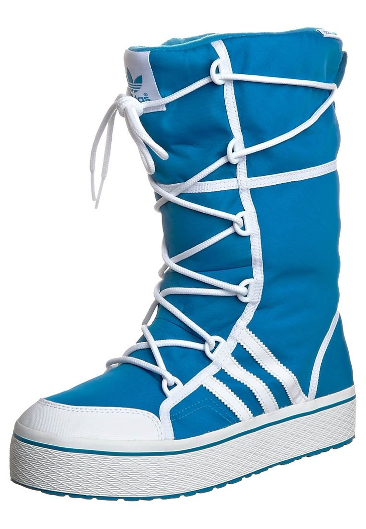 Love these for the snow!! http://www.zalando.co.uk/adidas-originals-honey-winter-snow-boots-blue-ad111c004-502.html