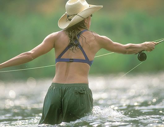 The Rivers Edge Fly Shop, Classes for Women promo photograph