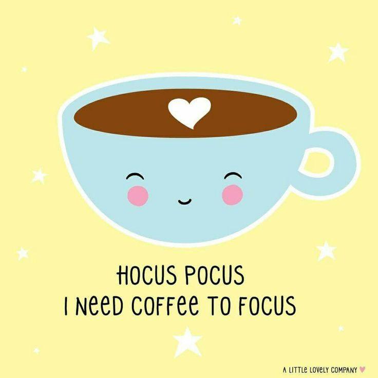 Hocus pocus coffee to focus