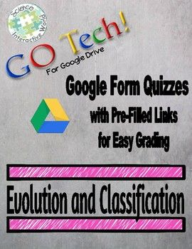 This Evolution and Classification Unit offers 6 Google Form Quizzes(10 questions each), covering: ♦ History of Life on Earth ♦ Darwin, Lamarck, and Natural Selection ♦ Evidence of Evolution ♦ Evolution and Genetic Variation ♦ Primate Evolution ♦ Classification