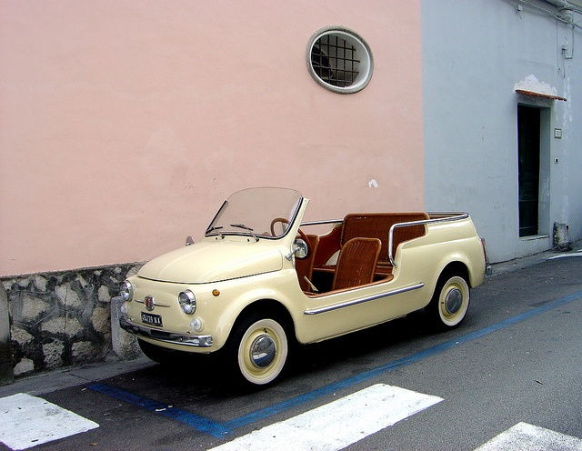 Fiat 500 Jolly - Positano Amalfi Coast