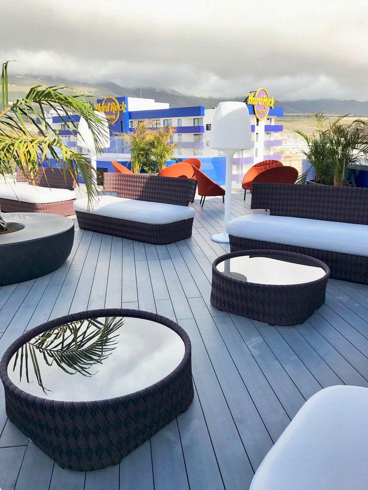 iDecking Revolution @ Hard Rock Hotel - Tenerife Sky Bar!