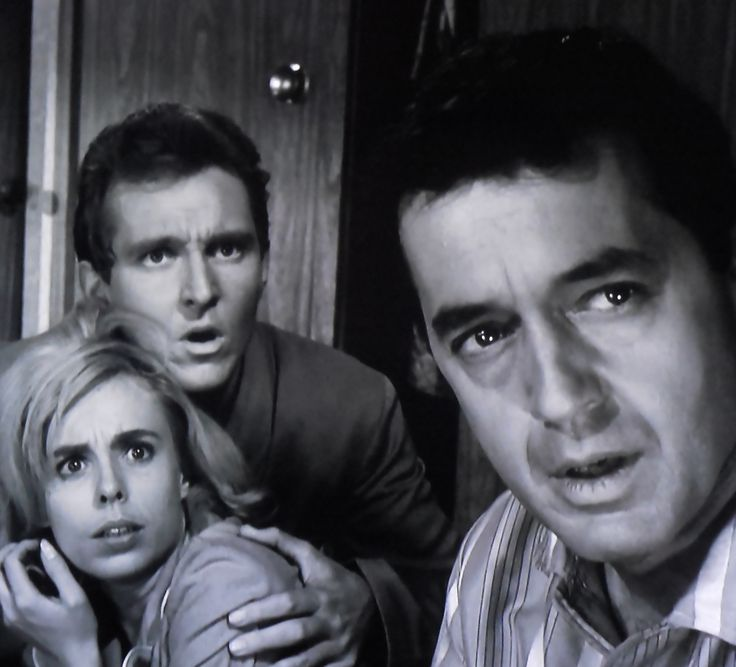 "Sarah Marshall, Robert Sampson and Charles Aidman in ""Little Girl Lost""  1962"