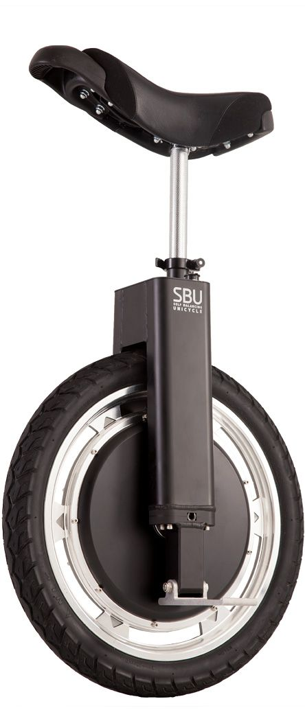 Self Balancing Unicycle  No handlebars, no steering wheel, no need for any of that! Control your SBU with natural leaning motions (similar to the Segway) and experience a new way to travel. Lean forward to go, lean back to slow down/stop.