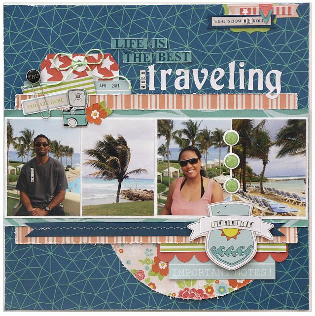 Rochelle Spears: A Travel Layout with Lots of Photos - GCD Studios
