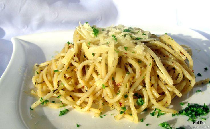 Nejedlé recepty: Chilli špagety s bylinkami