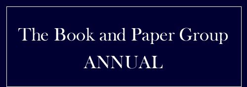 Survey of Current Methods and Materials Used for the Conservation of Leather Bookbindings by Kristen St. John