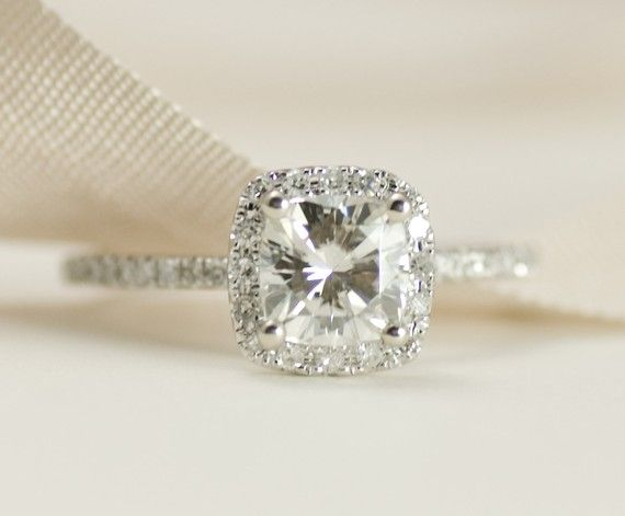 Cushion cut---this is perfection!