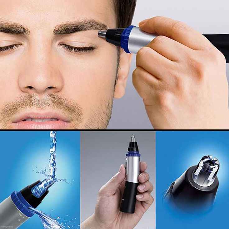 eyebrow trimmer men. nose hairs are there for a purpose: preventing dirt and foreign objects from getting into your system. we tell you how to choose the best hair trimmer. eyebrow trimmer men r