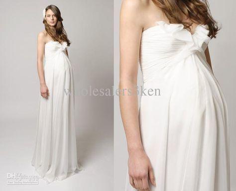 Fotos de vestidos de fiestas para embarazadas