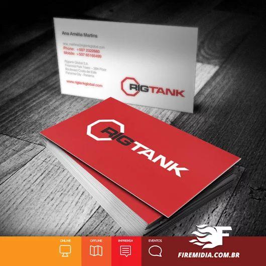 Cartão de Visita - RIGTANK - FIRE MÍDIA  A Rigtank Operadora Tank é uma empresa nacional de logística, fundada em 2014, que opera tank contêineres utilizados no transporte de cargas líquidas em geral. Entre eles, produtos químicos, químicos de alta periculosidade e alimentos.  #RIGTANK #logistica #operadoratank #panama #conteineres #cargas #cargasliquidas #quimicos