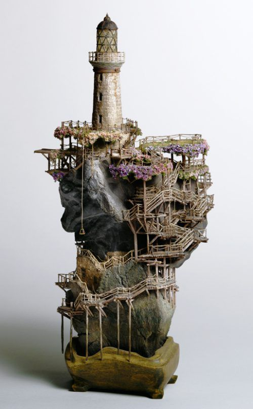 Badass Bonsai tree houses by Tokyo sculpter Takanori Aiba (18 photos) : : theCHIVE