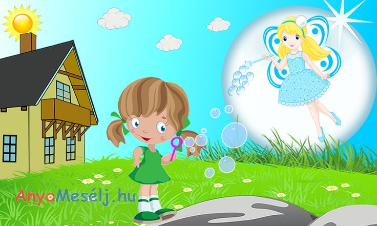 Panni és Buborék ország hercegnőjének kalandos története.  A mesét itt tudjátok elolvasni:  http://www.anyameselj.hu/buborekok/