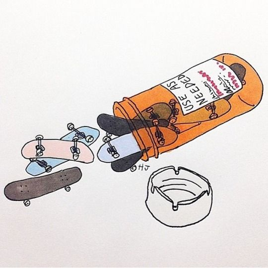 The Daily Board   Skate Art everyday
