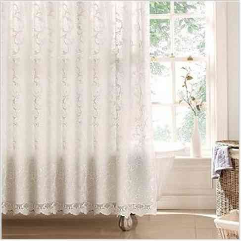 Statue of Classic and Lovable Victorian Shower Curtains