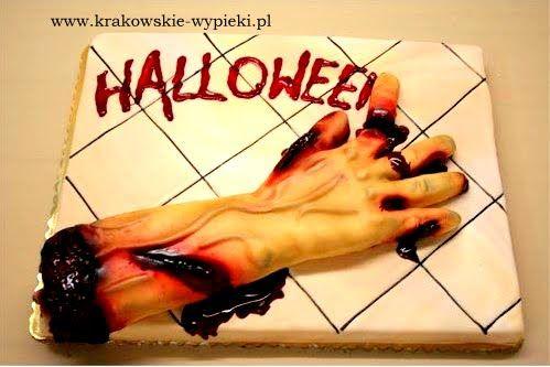 Tort na halloween od Cukierni Krakowskie Wypieki