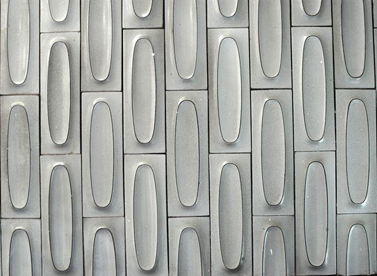 Heath Ceramics - Dimensional Oval Tiles